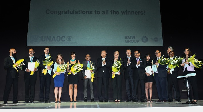 United Nations Alliance of Civilizations (UNAOC) und BMW Group verleihen Intercultural Innovation Award 2014