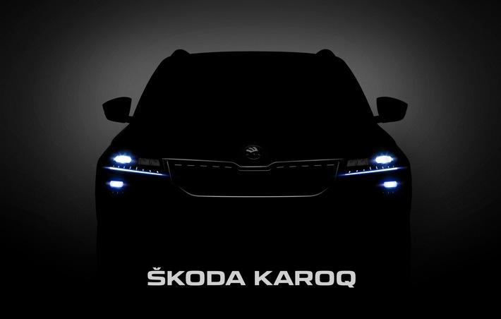 Weltpremiere des SKODA KAROQ live miterleben