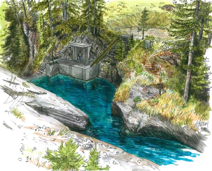 Wasserkraftwerkprojekt im Lauterbrunnental: Kanton Bern beurteilt Wasserkraftprojekt Sousbach positiv