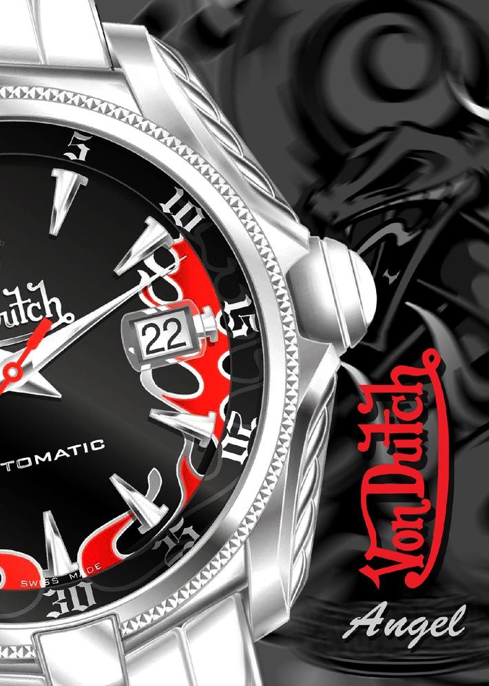 Dennis Rodman, Basketball-Ikone und Showman, lanciert die brandneue Von Dutch Uhrenkollektion