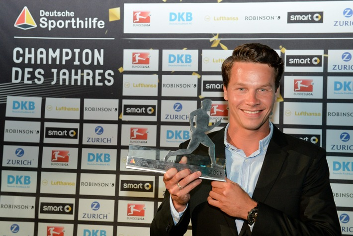 Patrick Hausding ist Champion des Jahres 2016