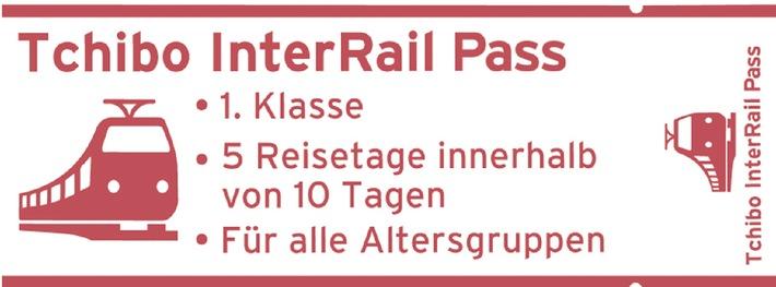 Bitte einsteigen in die 1. Klasse: Mit dem Tchibo InterRail-Pass quer durch Europa