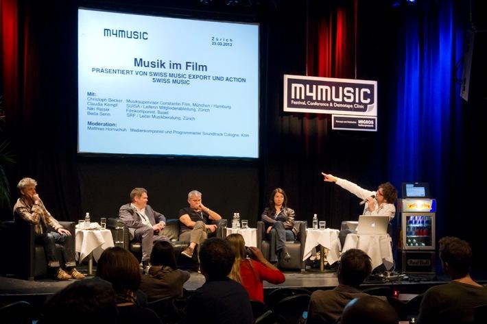 16. Ausgabe von m4music, dem Popmusikfestival des Migros-Kulturprozent / m4music 2013: Treffpunkt der Schweizer Musikbegeisterten