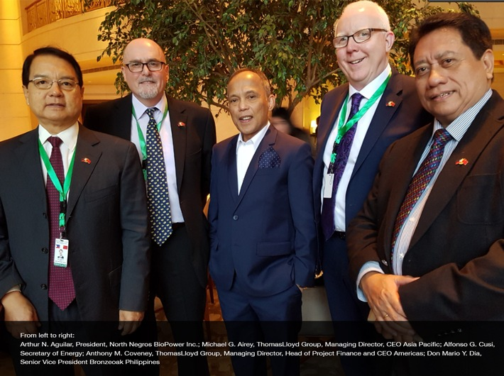 ThomasLloyd's portfolio of biomass projects set to benefit from a new era of Chinese-Philippine relations following the state visit of President Duterte.