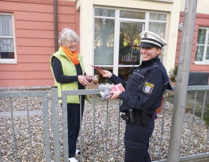 POL-DA: Darmstadt: Von Haus zu Haus / Polizei informiert persönlich zum Thema Einbruchsschutz