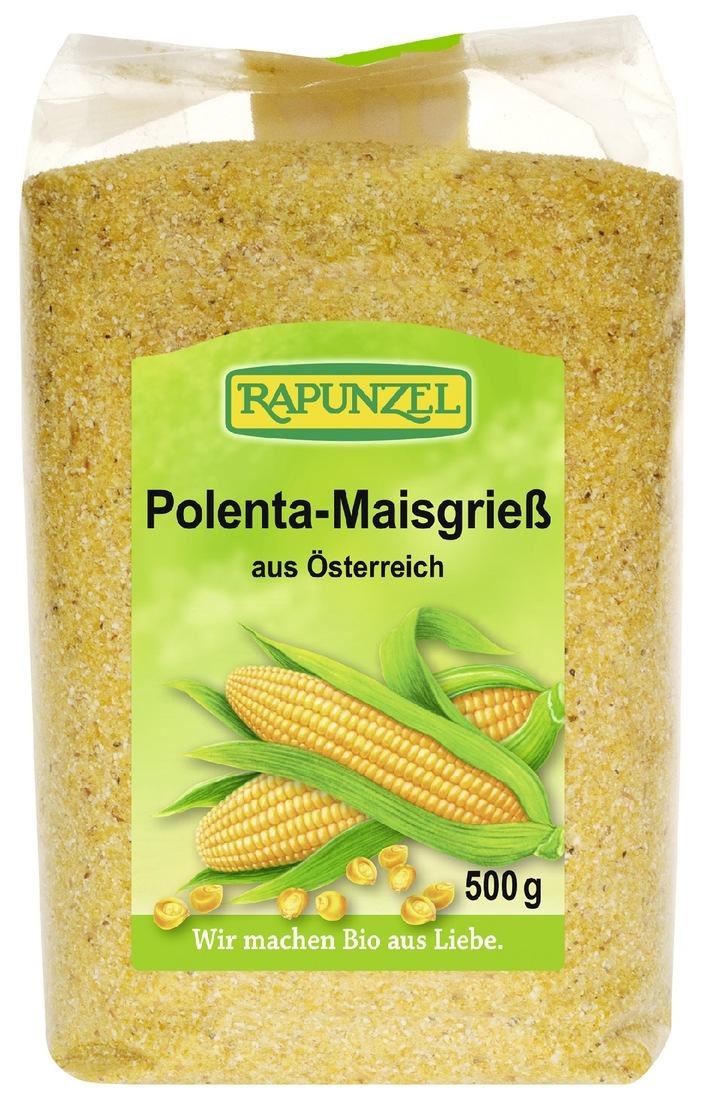 Rückruf Rapunzel Maisgrieß Polenta und Minutenpolenta