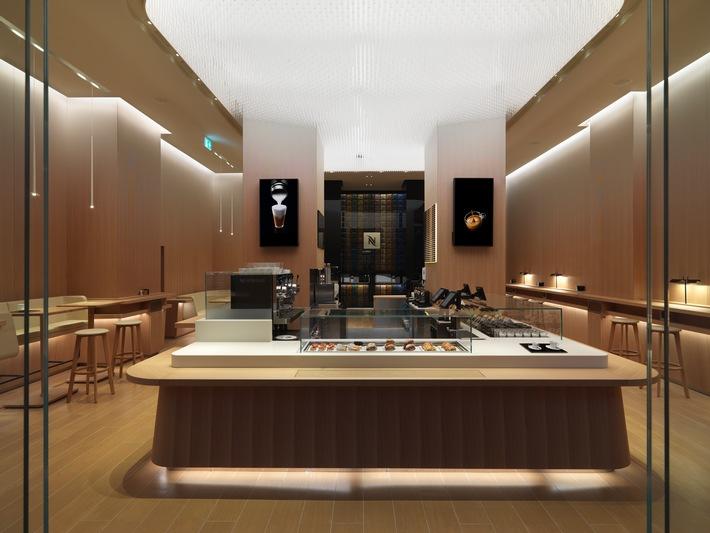 Weltweit erstes Nespresso Café in Wien - Nespresso ermöglicht Kaffeeliebhabern ein völlig neues Premium-Kaffeeerlebnis