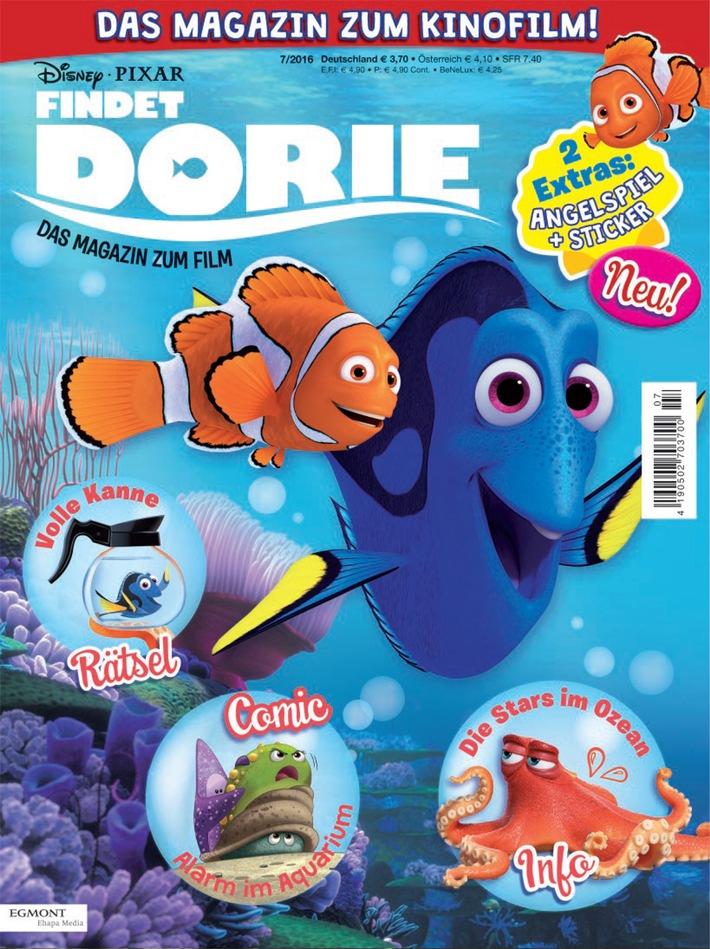 Dorie schwimmt weiter: Aus dem Kino direkt ins offizielle Magazin