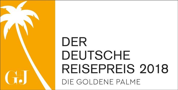 Der Deutsche Reisepreis - die Goldene Palme: Bewerbungsphase beginnt