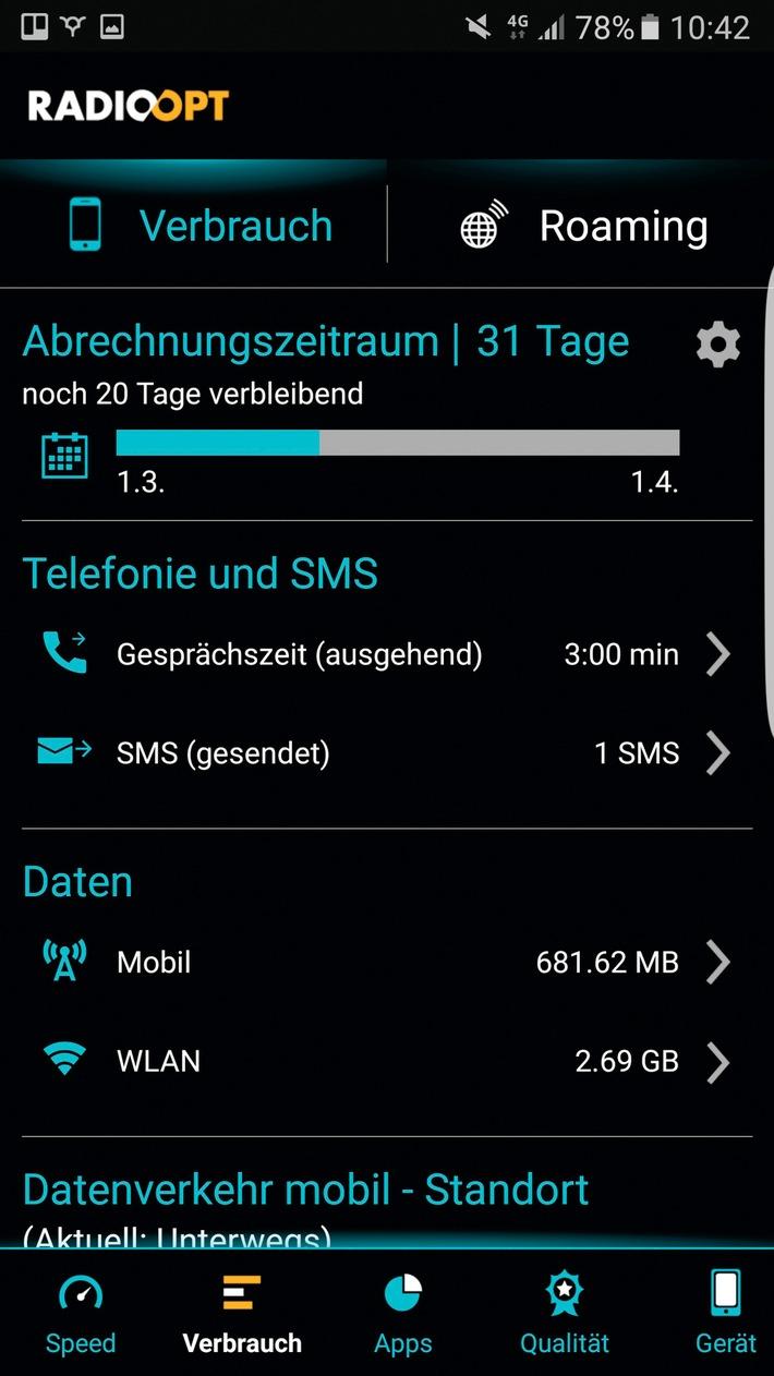 COMPUTER BILD Mobilfunktarif-Spezial: Nie wieder gedrosseltes Internet!