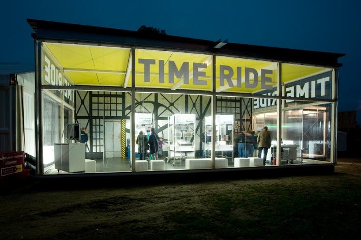 Nagra mit Sonderausstellung Time Ride zu Gast im Verkehrshaus der Schweiz / Terminankündigung
