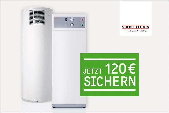 Einstieg in die Spar-Technik noch attraktiver: 120 Euro für neue Warmwasser-Wärmepumpen-Nutzer (mit Bild)