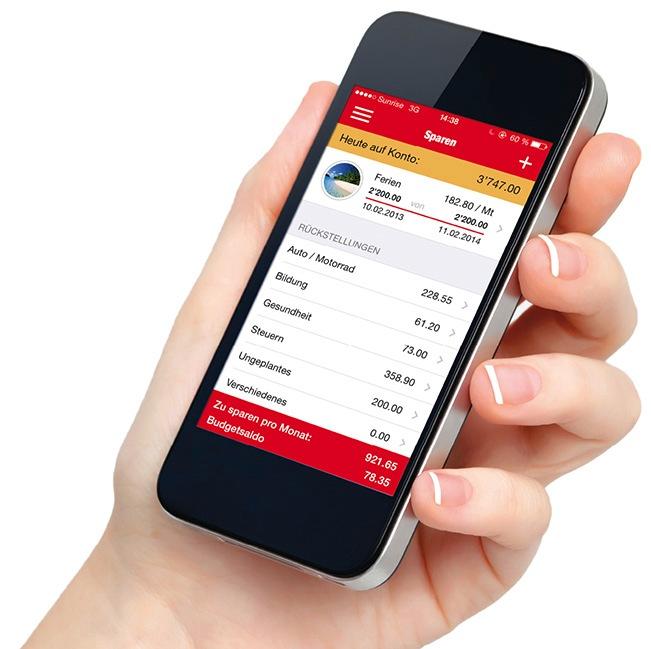 """Die App """"Caritas My Money"""" hilft Jugendlichen bei der Budgetplanung (BILD)"""