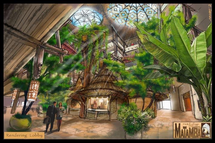 Phantasialand: Afrika-Themenhotel MATAMBA eröffnet im August
