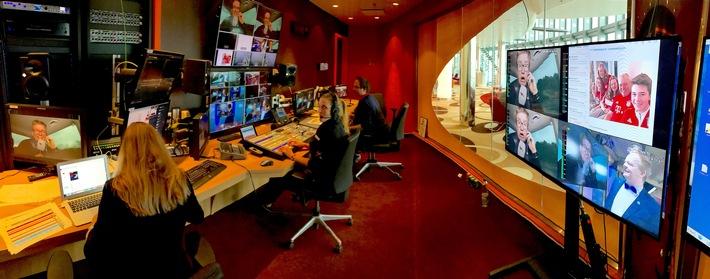 """AIDA Cruises erzielt Weltrekord mit längster von Bord gesendeter Live-Show - offiziell bestätigt vom """"Rekord-Institut für Deutschland"""""""