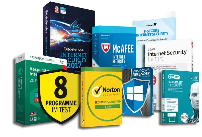 COMPUTER BILD-Test: Internet-Sicherheitsprogramme bieten kaum Innovationen gegen neue Bedrohungen