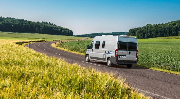 Rekord-Monat Mai - Caravaning beliebter als je zuvor / Neuzulassungen von Reisemobilen und Caravans wachsen um fast ein Drittel