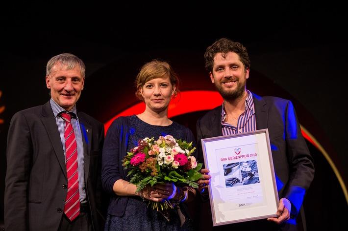 Der BNK-Medienpreis 2015 geht nach Berlin / WDR-Beitrag in neuem Format überzeugt die Jury