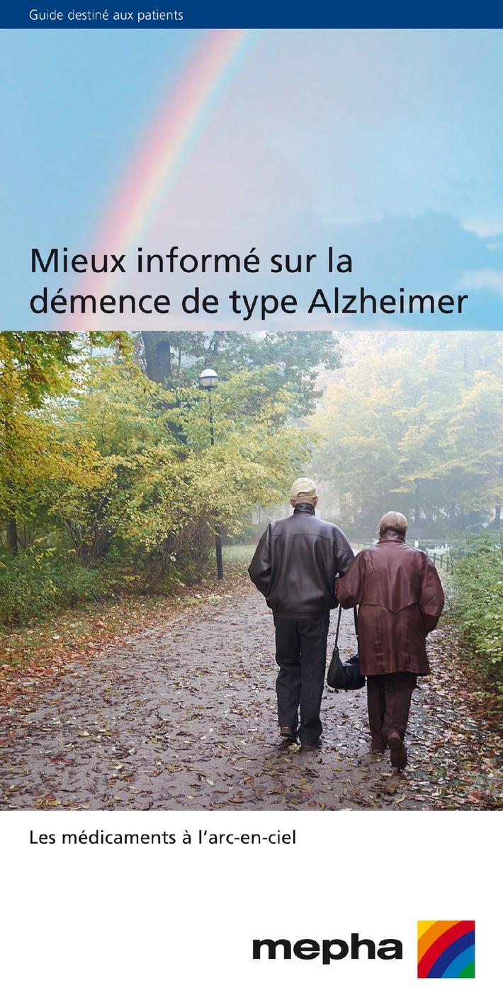 Nouveau chez Mepha: Guide gratuit sur la maladie d'Alzheimer