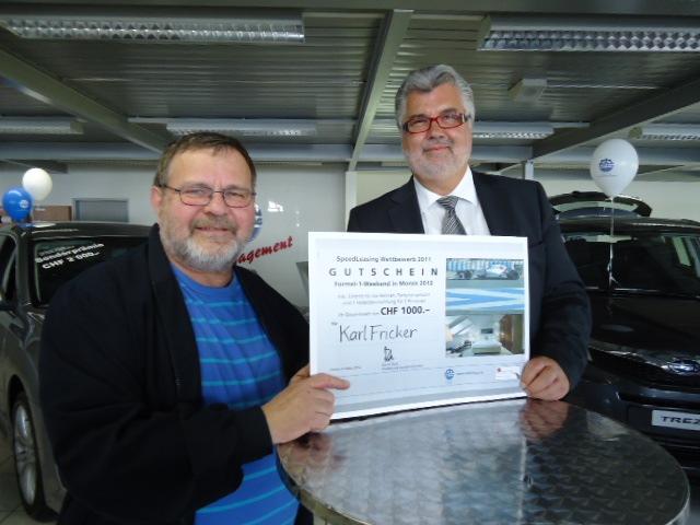 Emil Frey AG: Mit Vollgas nach Monza - Für drei glückliche Gewinner wird ein Traum wahr