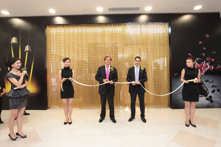 Nespresso opens in Shanghai its 200th boutique worldwide / On-going expansion of its Boutique network in major international cities a major factor in continuing double-digit growth at Nespresso