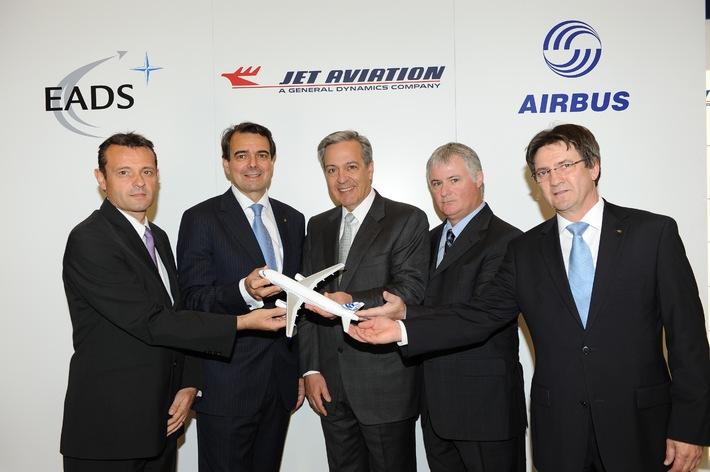 Jet Aviation et Airbus concluent un nouvel accord sur le statut de Centre de finitions agréé par Airbus