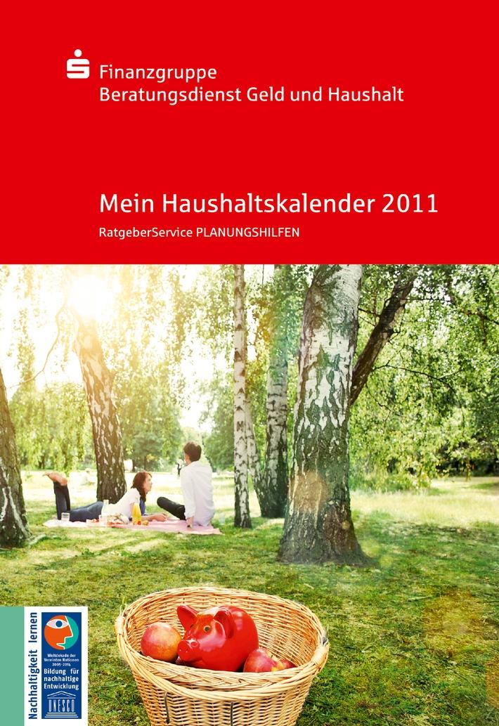 Gut auskommen mit dem Einkommen / Der kostenlose Haushaltskalender 2011 ist soeben erschienen (mit Bild)