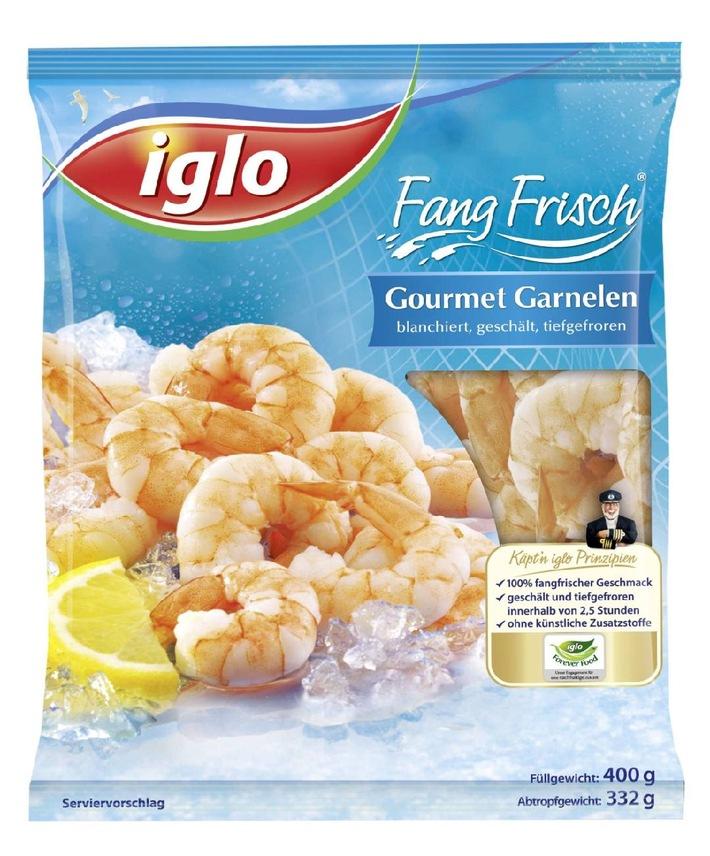iglo macht Appetit auf Meer