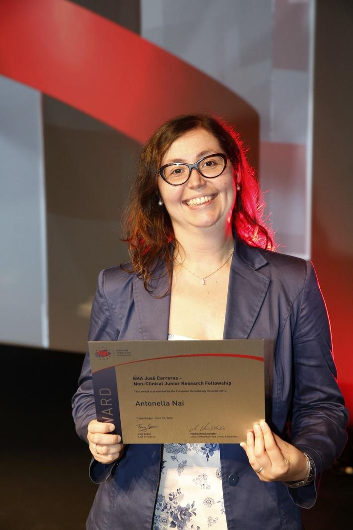 José Carreras - European Hematology Association Young Investigator Fellowship verliehen