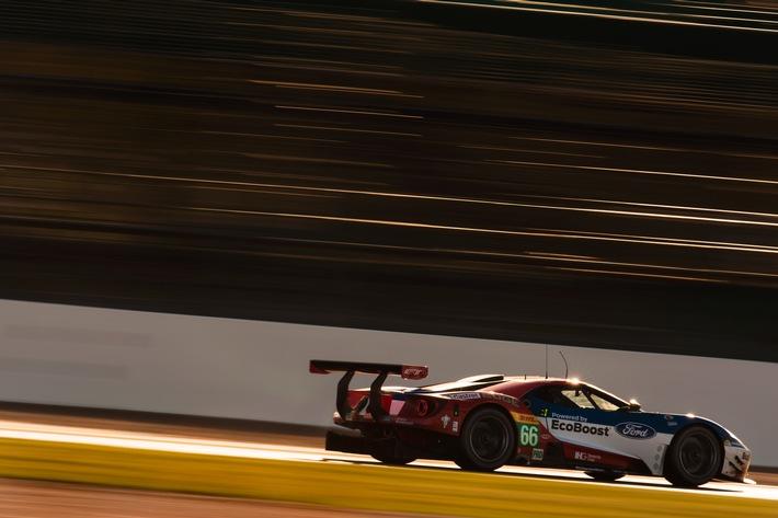 Ford Chip Ganassi Racing startet mit ermutigenden Rängen vier und fünf in die Langstrecken-WM-Saison