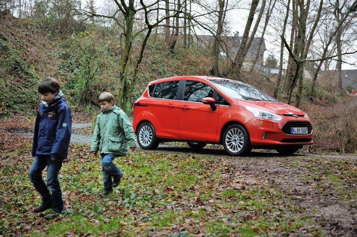 """""""Kindertauglich"""" - Der neue Ford B-MAX besteht Tests mit Schlamm, Milch und Limonade"""