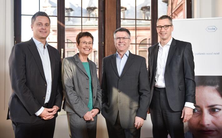 Roche wächst in Deutschland deutlich stärker als der Markt / Konzern investiert 570 Millionen Euro am Standort Deutschland