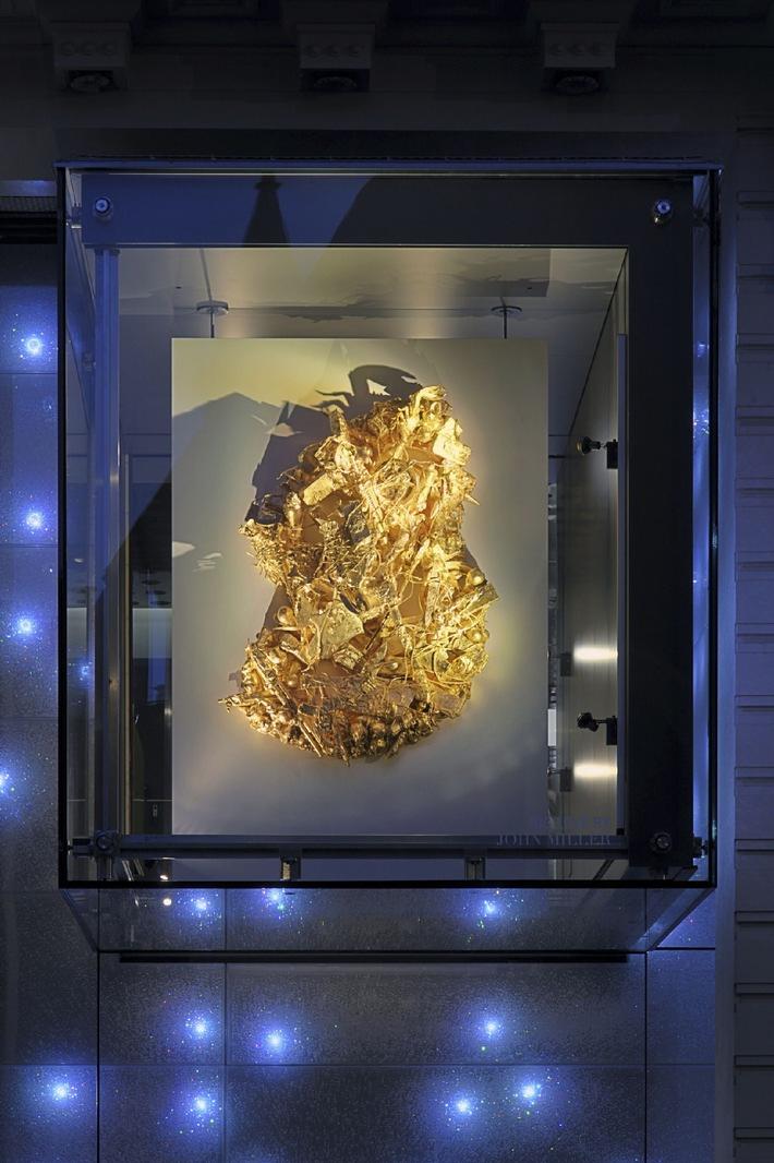 Transparente Kreativräume: Neue Installationen in den Kuben von Swarovski Wien