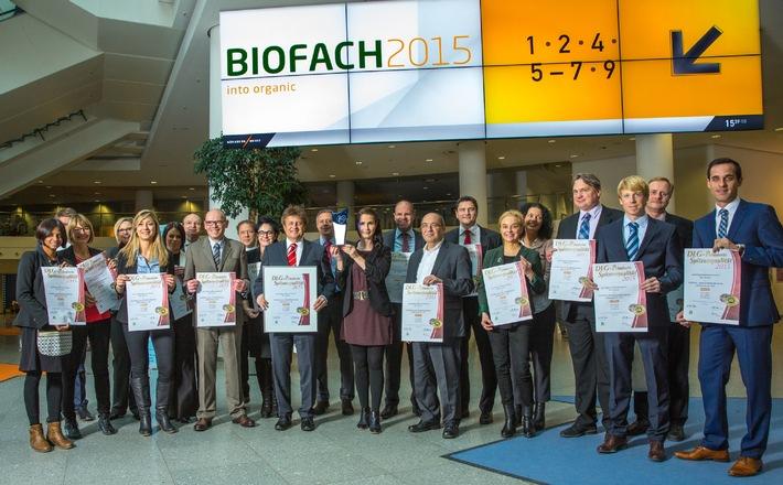 NORMA: Bio-Händler des Jahres 2015! / Top-Level Preis auf der BIOFACH 2015 für Discounter aus Nürnberg