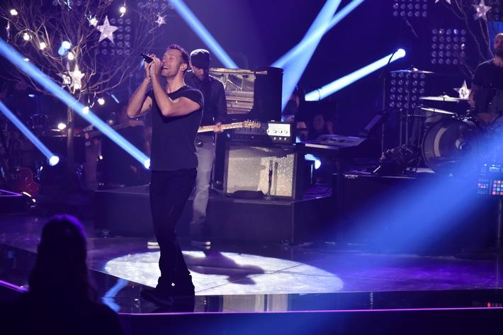 """Traumhaftes Wiedersehen: Coldplay singen im Finale von """"The Voice of Germany"""""""