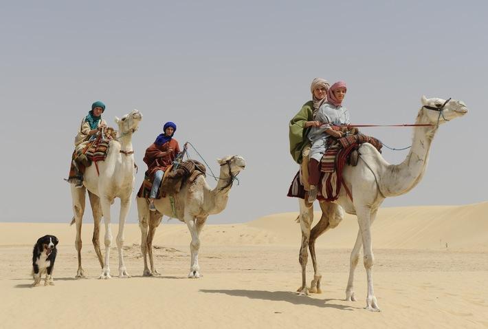 Atemberaubendes Abenteuer im fernen Orient - SamFilm hat FÜNF FREUNDE 4 in München und Tunesien abgedreht