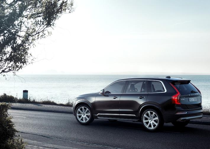 "Volvo XC90 erhält renommierten Red Dot ""Best of the Best"" Produktdesign Award"