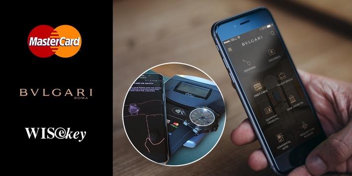 BVLGARI, MasterCard et WISeKey s'associent pour équiper de capacités de paiement la nouvelle Diagono Magn@sium de Bulgari, la toute première montre intelligente mécanique de luxe