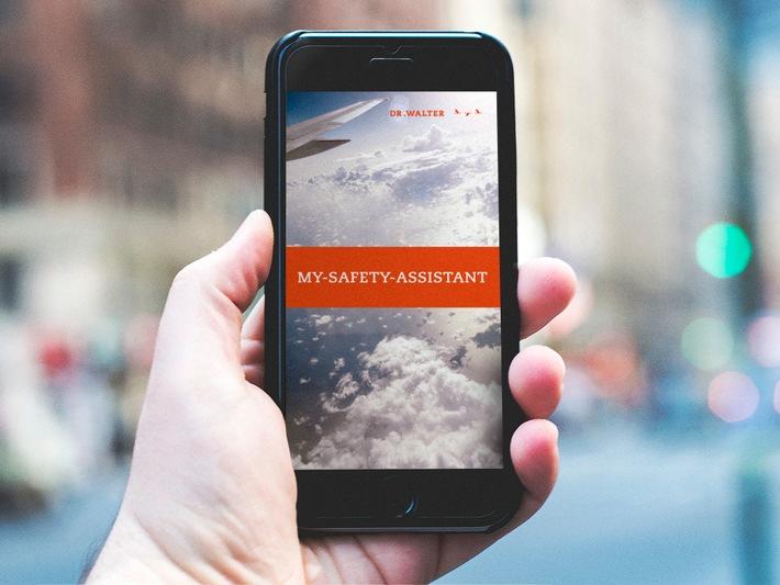 Neue Sicherheits-App von Dr. Walter: MY-SAFETY-ASSISTANT