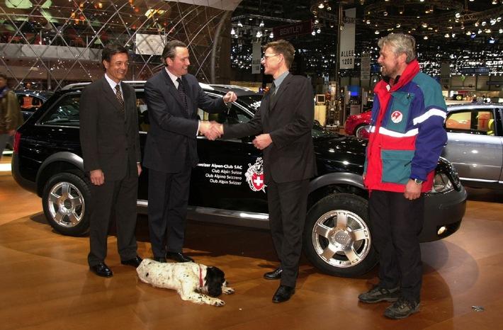 1 Million Audi mit quattro-Antrieb