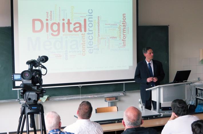Über Risiken und Chancen des Digitalen Wandels - Antrittsvorlesung an der Hochschule Fresenius