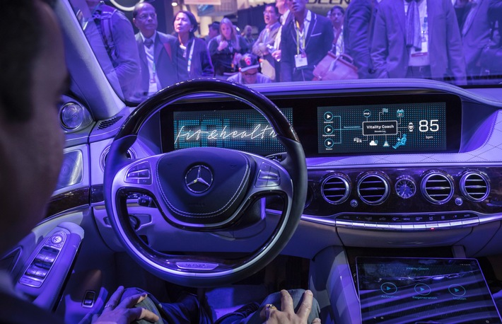 "Mercedes-Benz ""Fit & Healthy"": Komfort wird noch intelligenter"