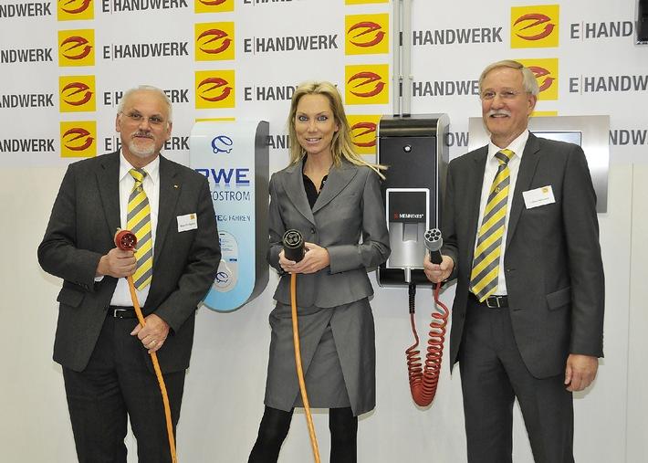 RWE startet mit ZVEH und Innungsbetrieben gemeinsamen Aufbau von Schnell-Ladestationen für Elektroautos / Auftakt in NRW