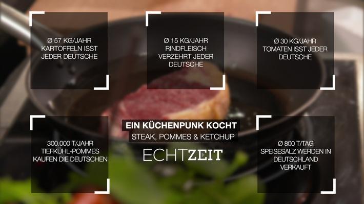 """""""Ein Küchenpunk kocht: Steak, Pommes & Ketchup"""" bei RTL II-Echtzeit"""