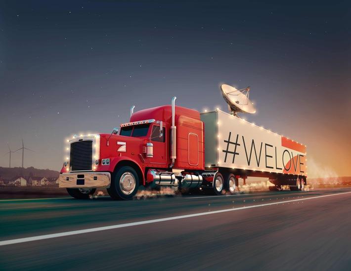 Mit dem Truck in den Vorgarten: ProSieben bringt The BossHoss zu einem Zuschauer nach Hause