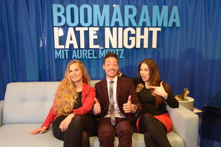 """""""Der Klügere kippt nach"""" - die Gäste am 27. April: Oliver Kalkofe, Peter Rütten und Lotto King Karl / Und: Aurel Mertz mit """"Suchtpotenzial"""" in """"Boomarama Late Night"""""""