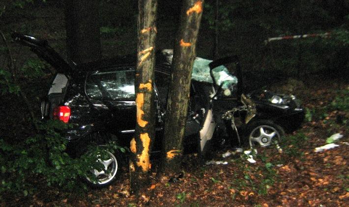PPSH-ERB: Michelstadt - Schwerer Verkehrsunfall auf der B 47