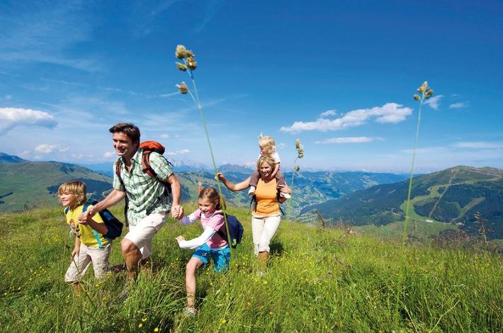 Neues Portal zum Thema Wandern mit Kindern in Österreich