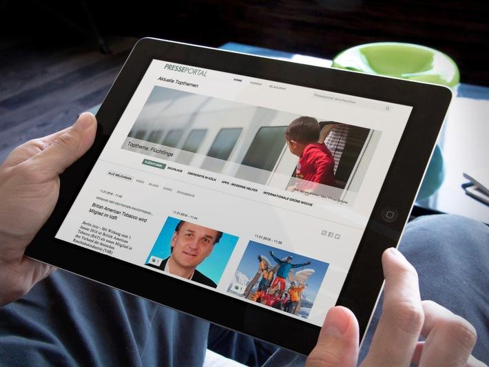 Presseportal.de auf Rekordkurs - Nachfrage nach PR-Content so hoch wie noch nie