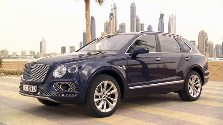 "GRIP - Das Motormagazin: ""Der Bentley Bentayga"""